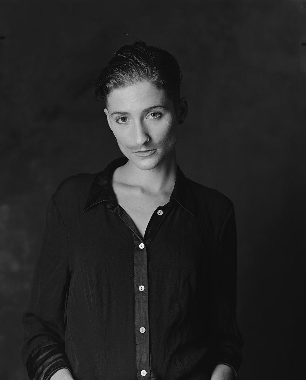 Carise ZM studio portrait Sinar F1