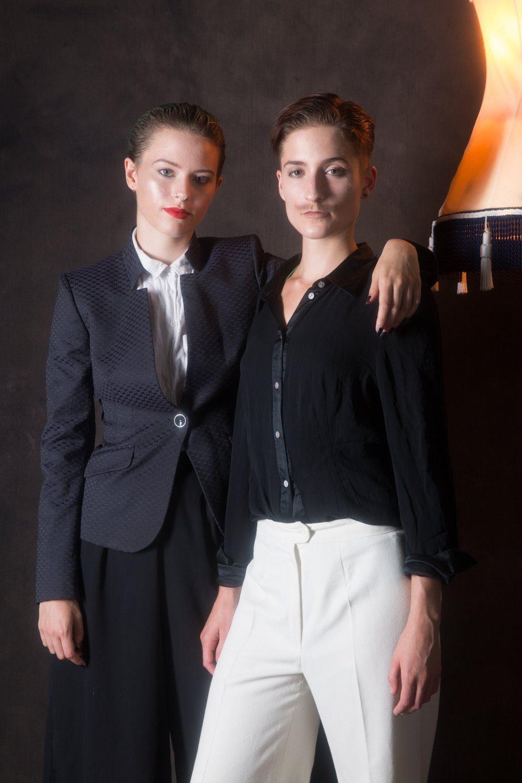 Close up portrait of Danni Spooner & Carise ZM
